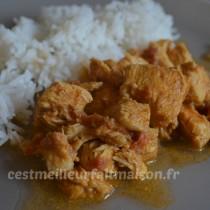 poulet garam masala