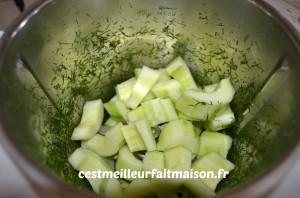 Smoothie au concombre