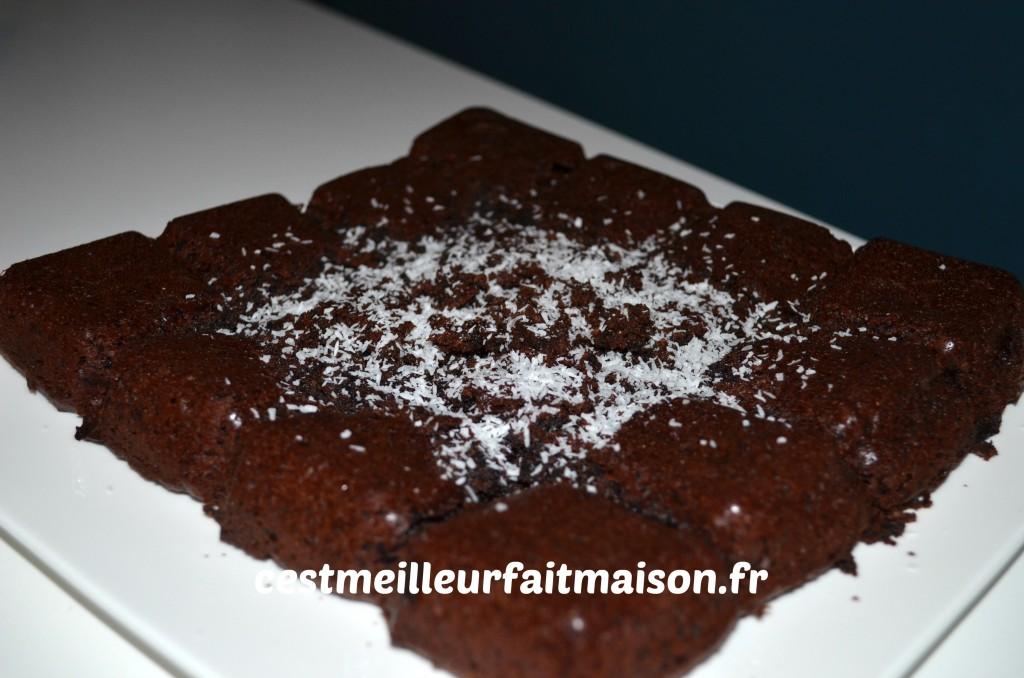 gâteau au chocolat (sans gluten, sans œuf, sans lait) – c'est