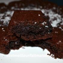 Gâteau au chocolat (sans gluten, sans œuf, sans lait)
