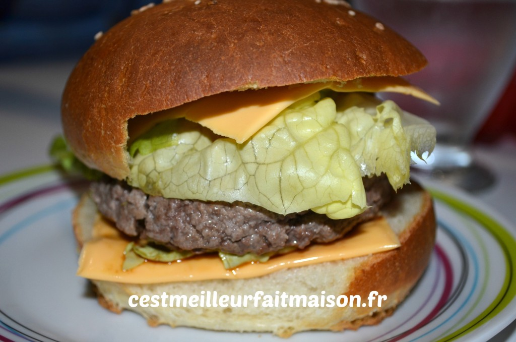Pains pour hamburger