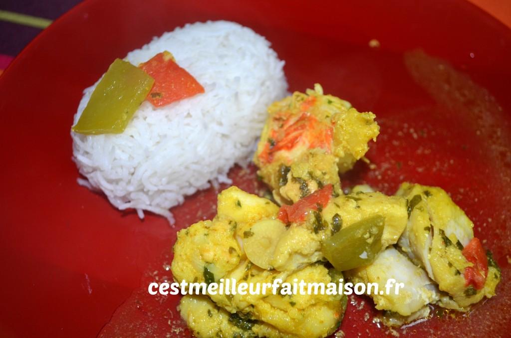 Tajine de poisson aux citrons confits