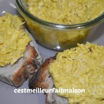 Rillettes de poulet au curry