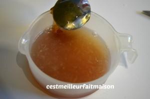 Cuisses de dinde caramélisées au miel et au citron