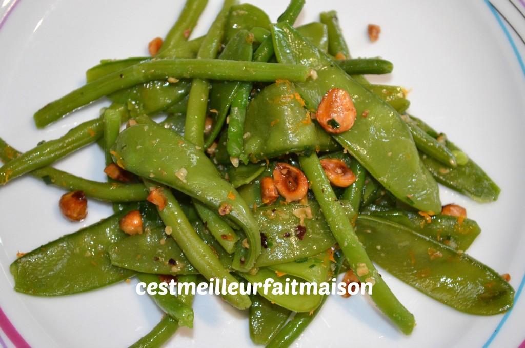 salade de haricots verts et de pois gourmands yotam ottolenghi c 39 est meilleur fait maison. Black Bedroom Furniture Sets. Home Design Ideas
