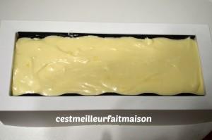 Bûche framboise chocolat blanc