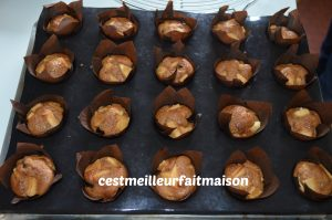 Muffins pomme Carambar