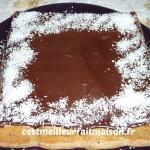 gâteau choco coco
