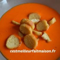 Velouté aux poivrons rouges