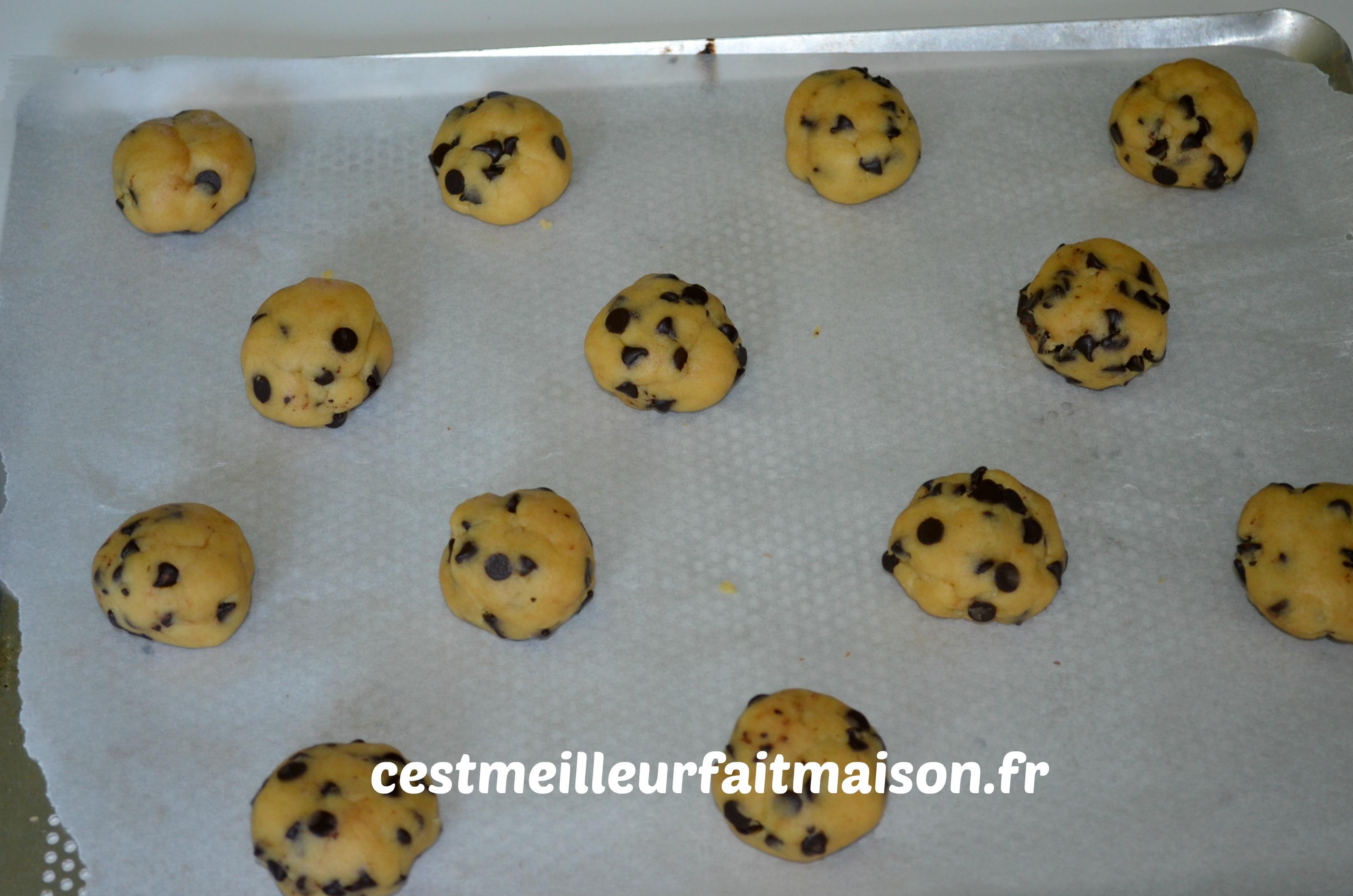 Cookies aux jaunes d'oeufs