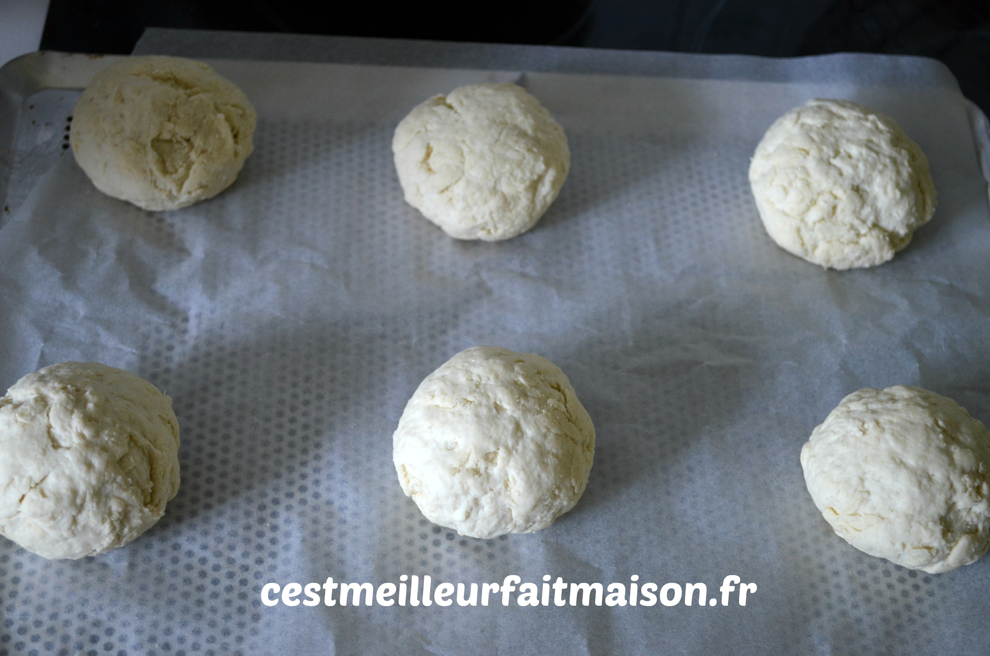 Petits pains au fromage blanc