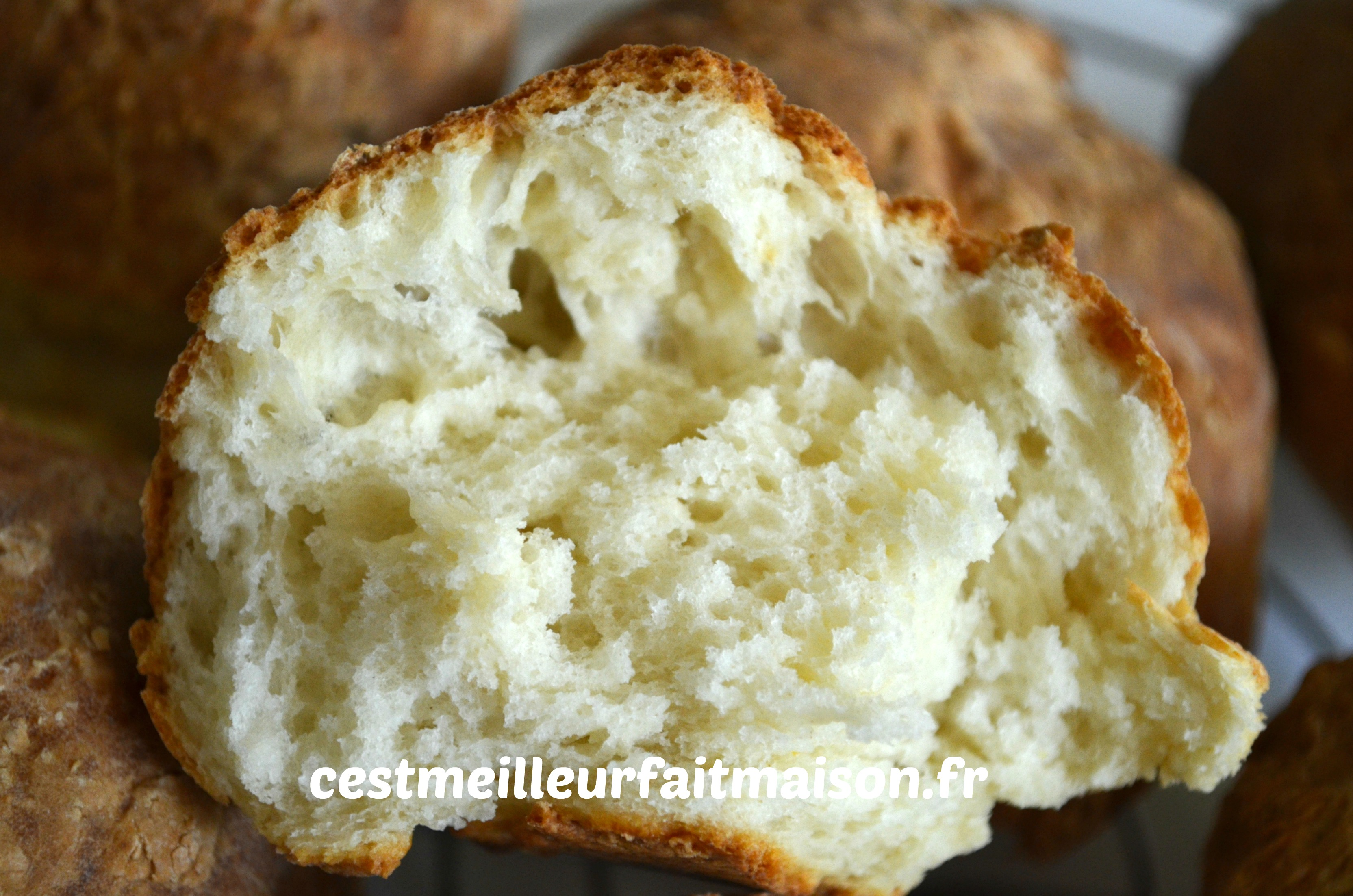 Petits pains au fromage blanc
