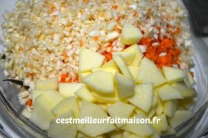 Salade vitaminée et colorée
