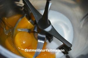 Verrines à l'orange