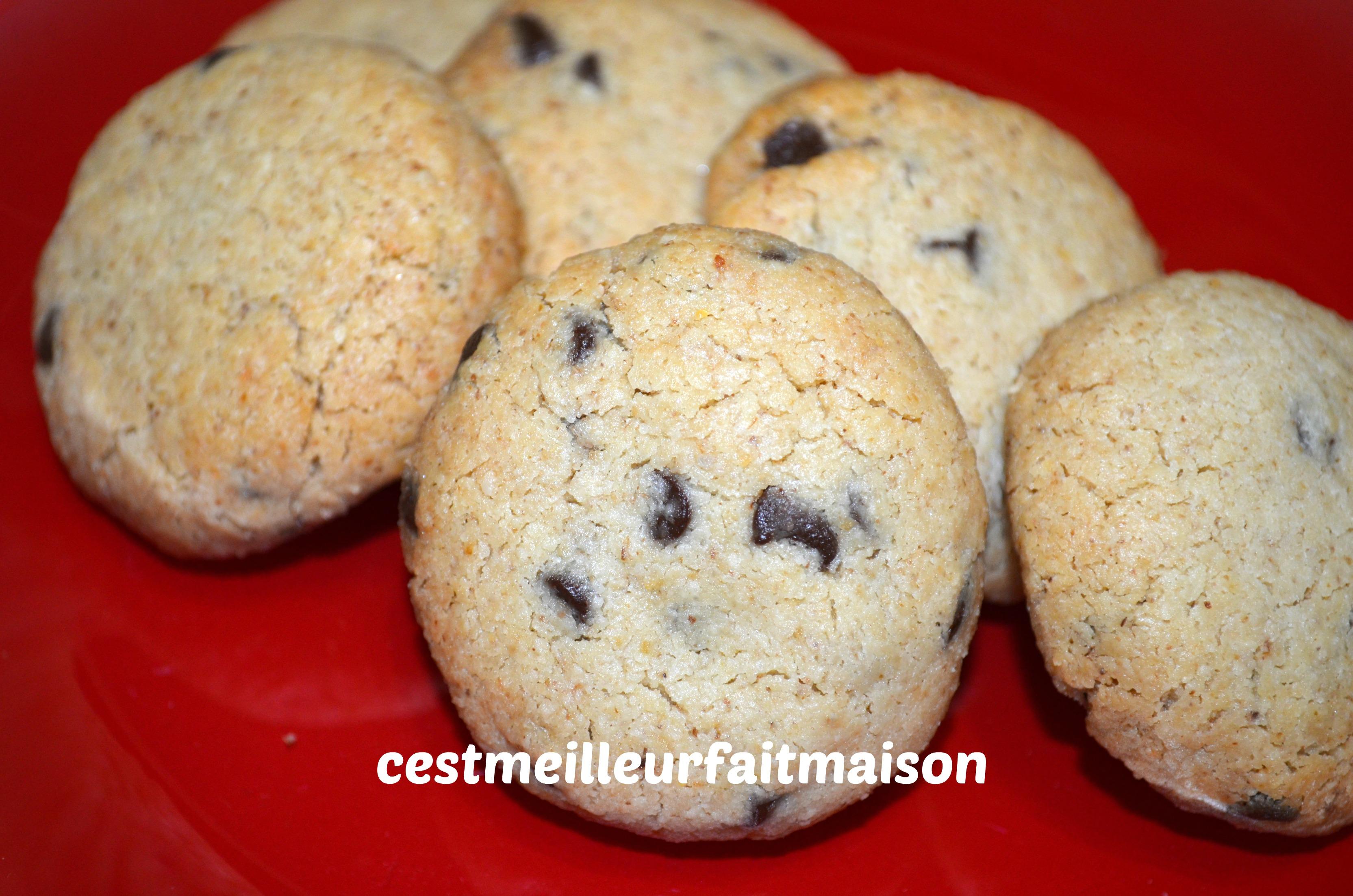 Sablés aux noix, flocons d'avoine et chocolat