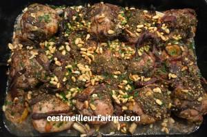 Poulet rôti au sumac, au zaatar et au citron