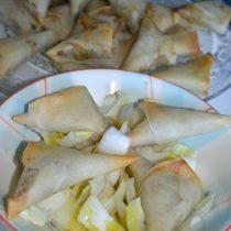 Samoussas au curry