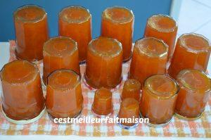 Confiture abricot vanille