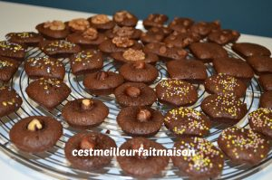 Mignardises au chocolat