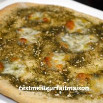 Pizza au zaatar