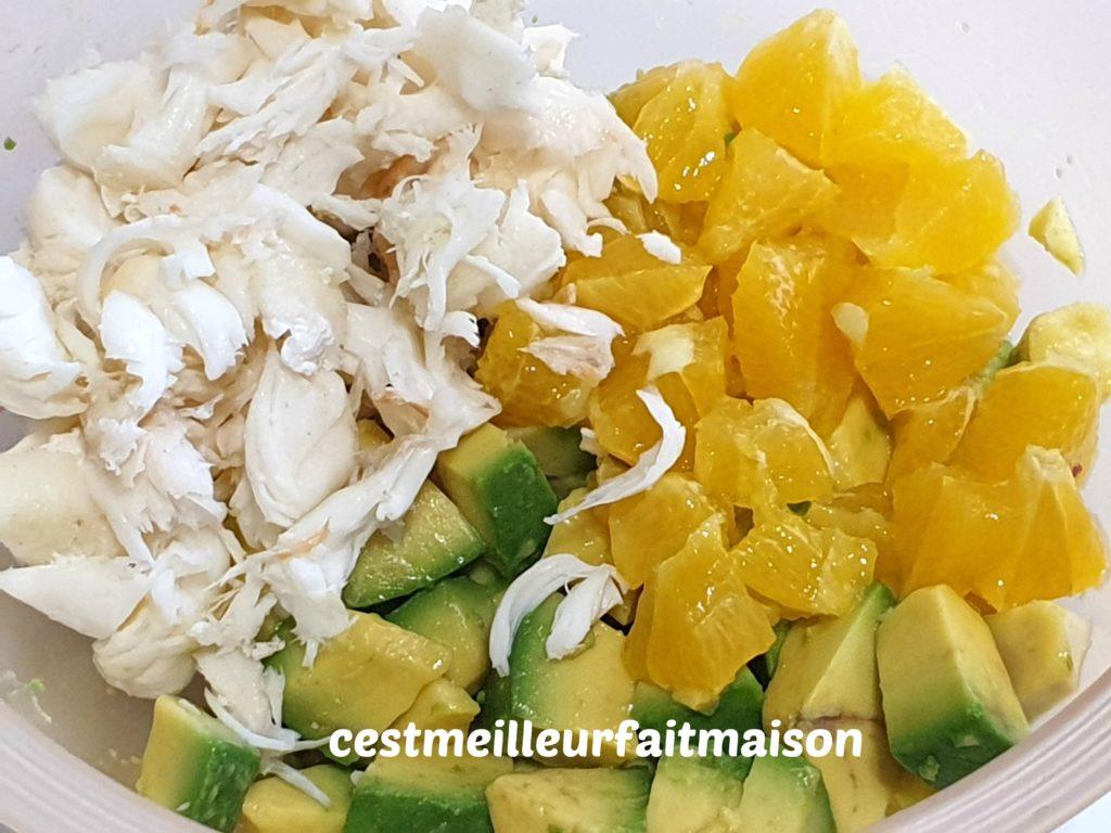 Salade de langouste aux fruits de la passion
