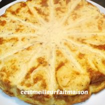 Tortilla au Thermomix